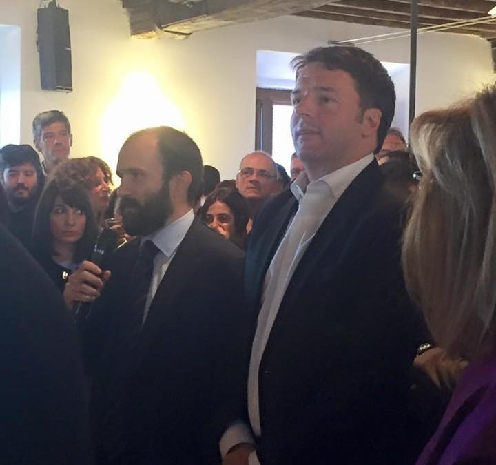Auguri di Natale con Matteo Renzi