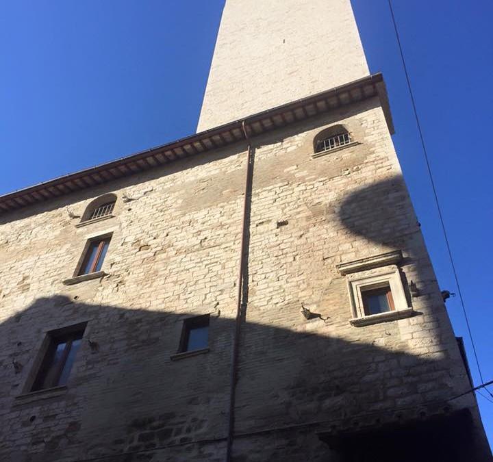Al complesso Monumentale degli Sciri a Perugia