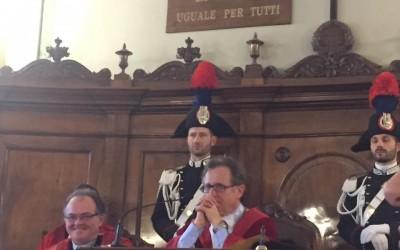 Inaugurazione dell'anno giudiziario della Corte d'Appello