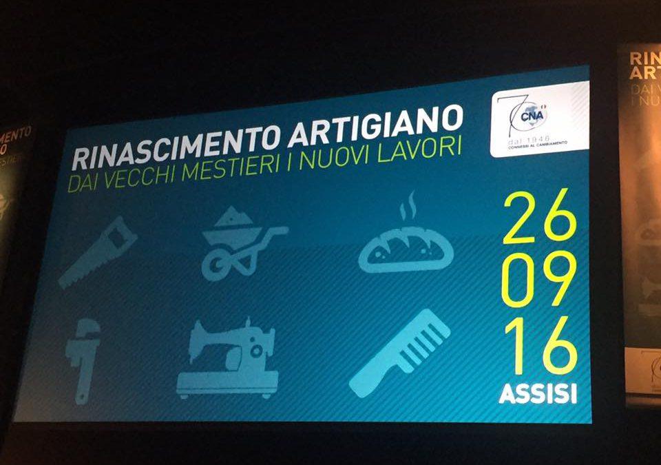 Assemblea CNA Umbria al teatro Lyrick di Assisi