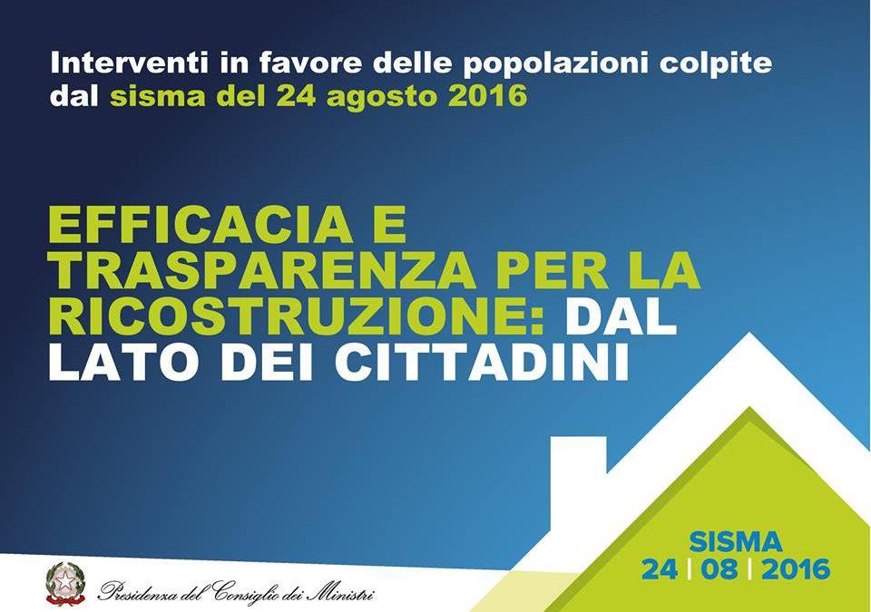 Decreto Terremoto Centro Italia 2016