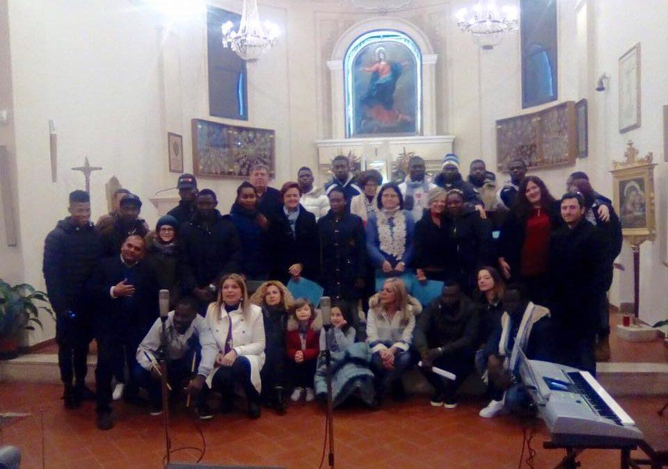 Concerto di Natale del Coro dei Rifugiati