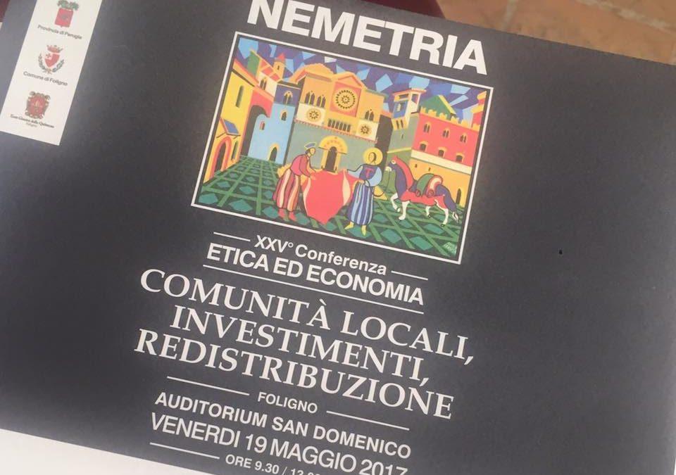"""XXV Conferenza su """"Etica ed Economia"""""""