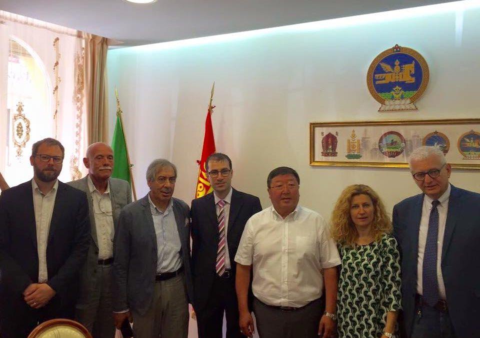 A Roma all'ambasciata della Mongolia