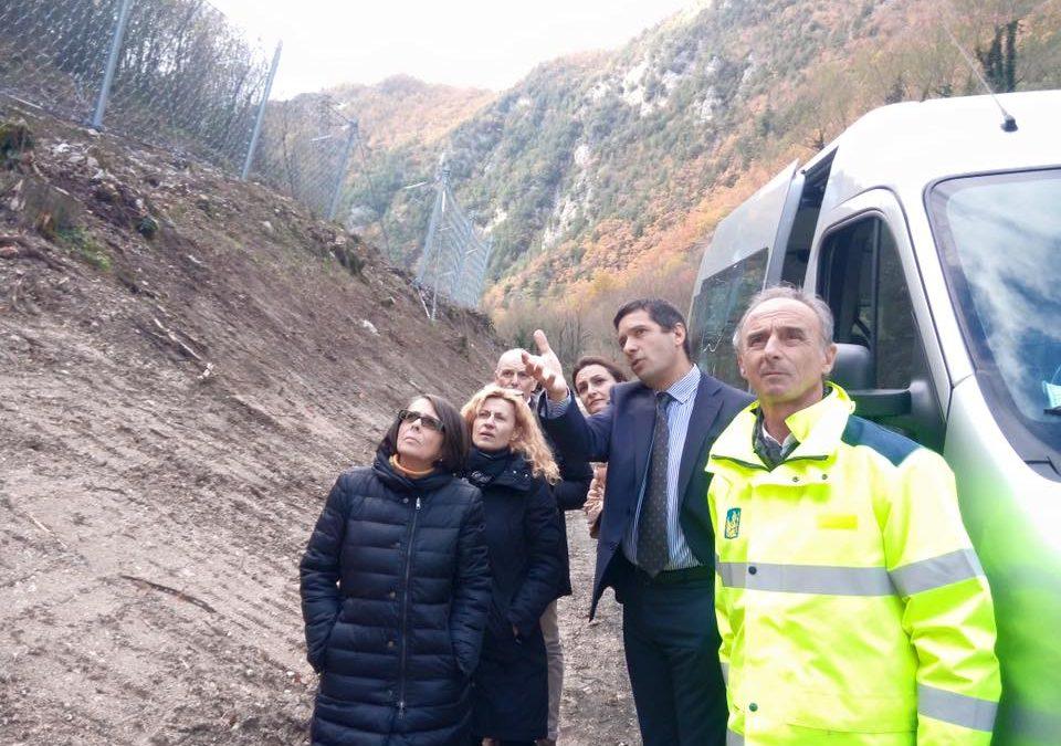 Terremoto: cantieri ANAS, lavori in corso per rispettare i tempi.