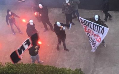 Blitz fascista sotto Repubblica