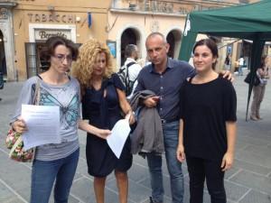 Manifestazione a sostegno di Perugina