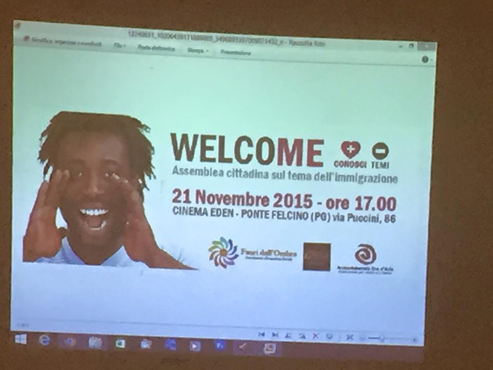 """""""Welcome"""", assemblea cittadina sul tema dell'immigrazione"""