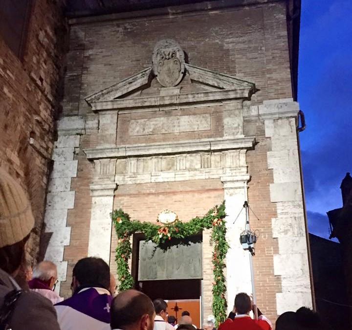 Apertura Porta Santa a Perugia