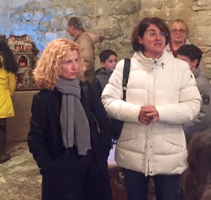 Inaugurazione della mostra dei presepi (Collestrada, Perugia)