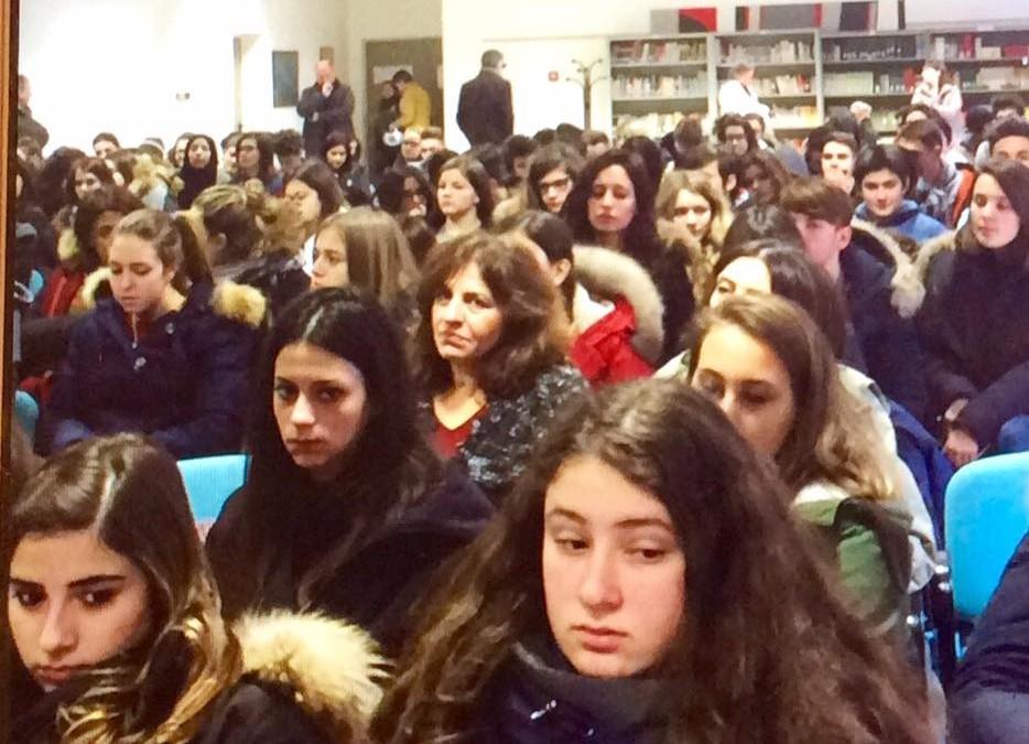 Incontro con gli studenti sulla lotta alla mafia