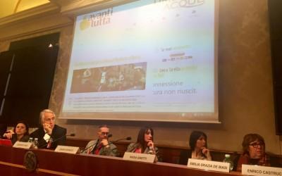 """Presentazione attività """"Avanti Tutta!"""" in Senato"""
