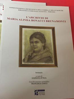 L'archivio di Maria Alinda Bonacci Brunamonti