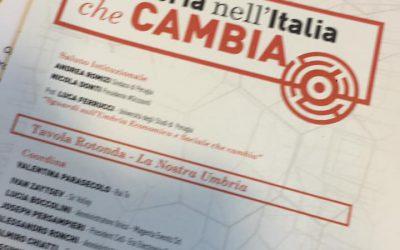 L'Umbria nell'Italia che cambia