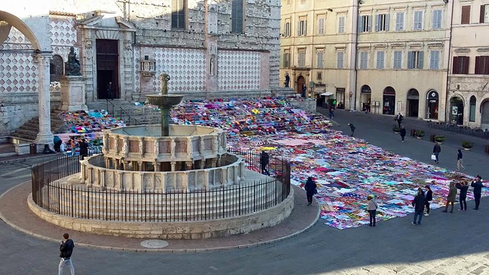 """""""La coperta del coraggio"""", Perugia"""