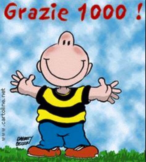 Grazie 1000!